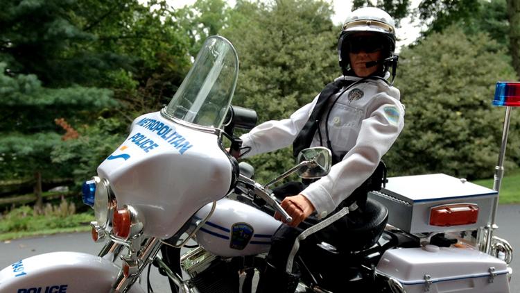 GI Joe 2001 Electra Glide Police Harley [Review]
