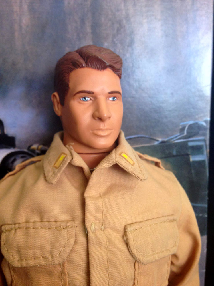 Audie Murphy head sculpt