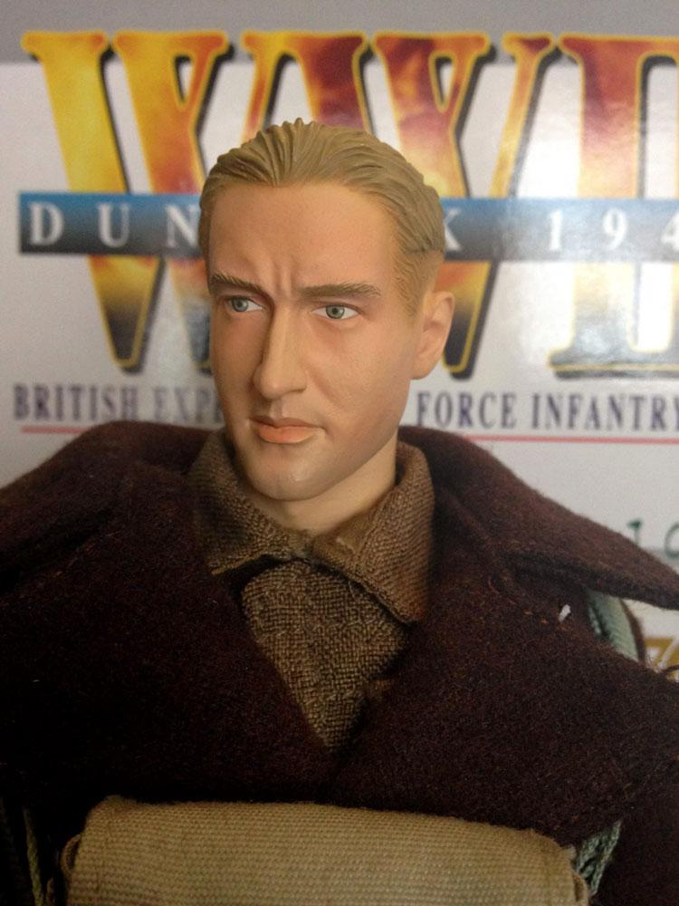 Peter Coates head sculpt