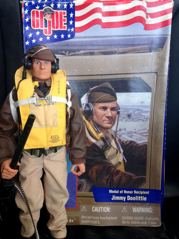 Jimmy Doolittle figure