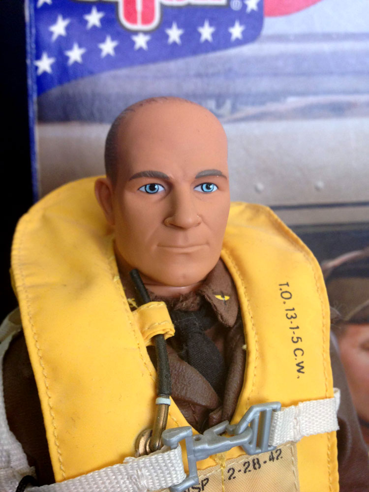 Jimmy Doolittle head sculpt