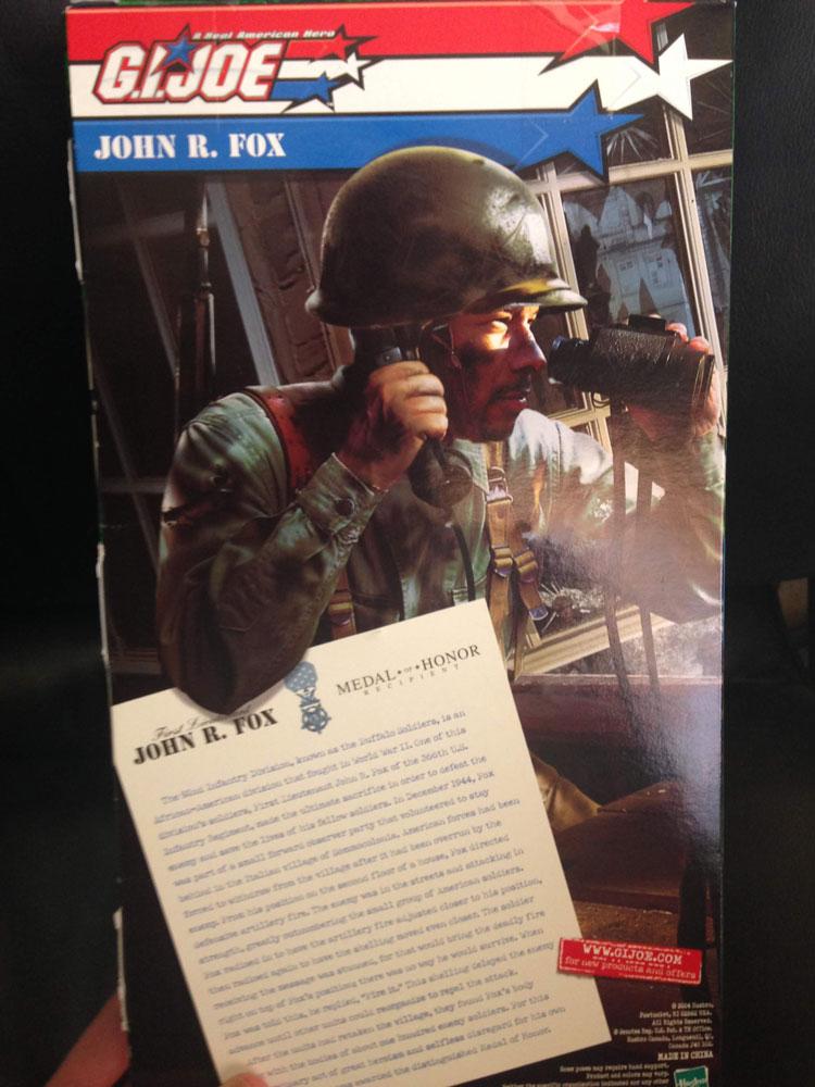 John R. Fox box