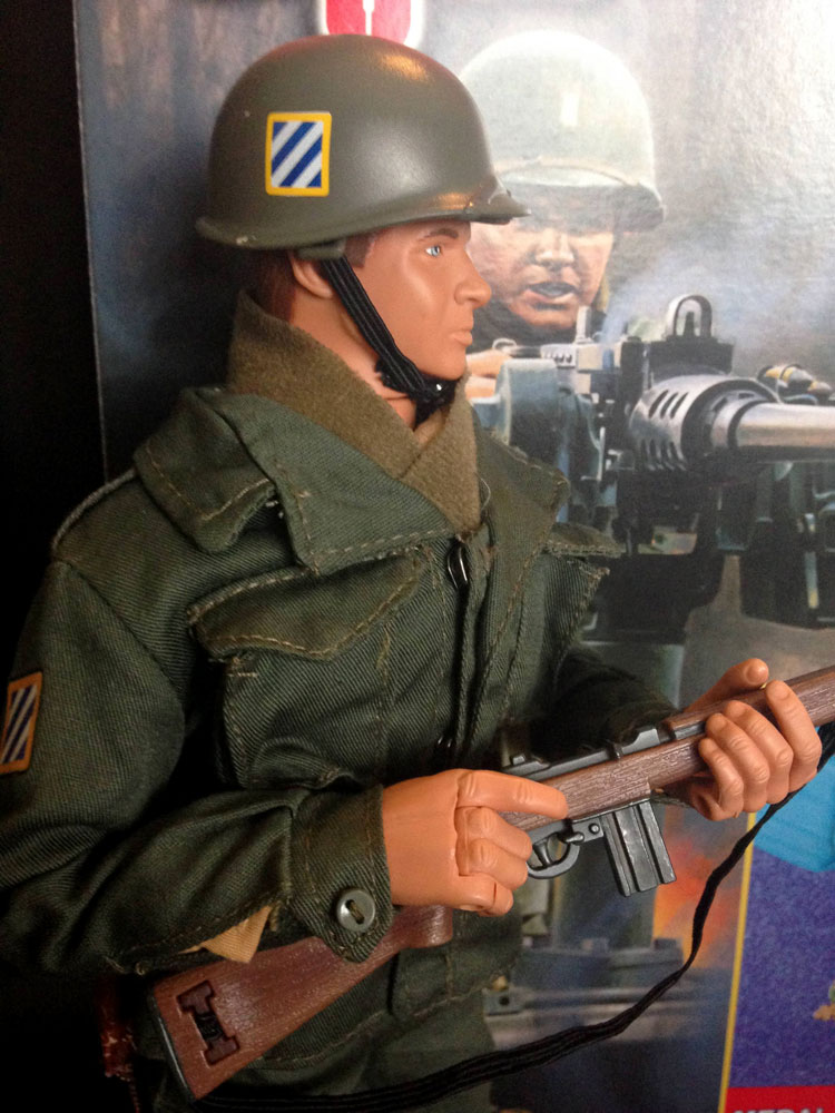 Audie Murphy figure