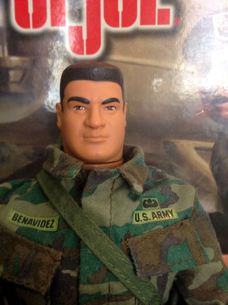 GI Joe Benavidez head sculpt