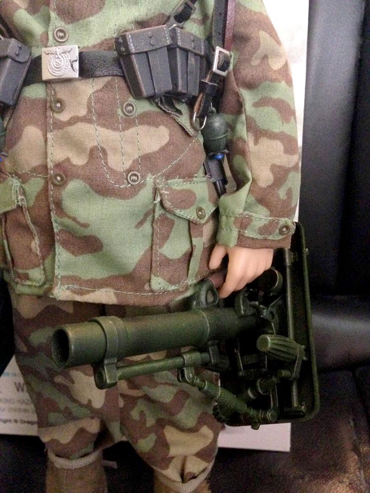 mortar closeup