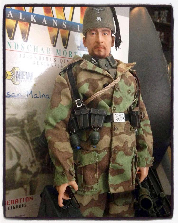Hasan Malnar posed