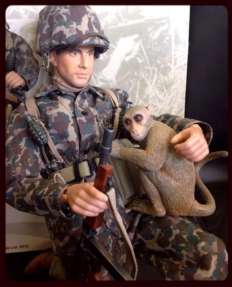 figure and monkey