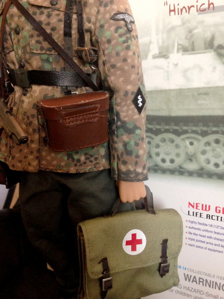 medic bag and sleeve arm