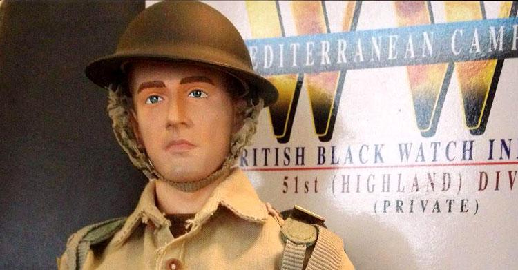 """Dragon """"Norman White"""" – WW2 British Black Watch Infantryman [Review]"""