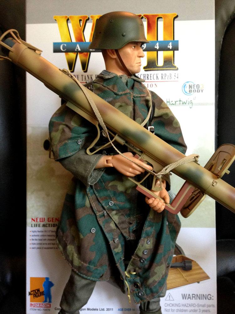 hartwig with bazooka