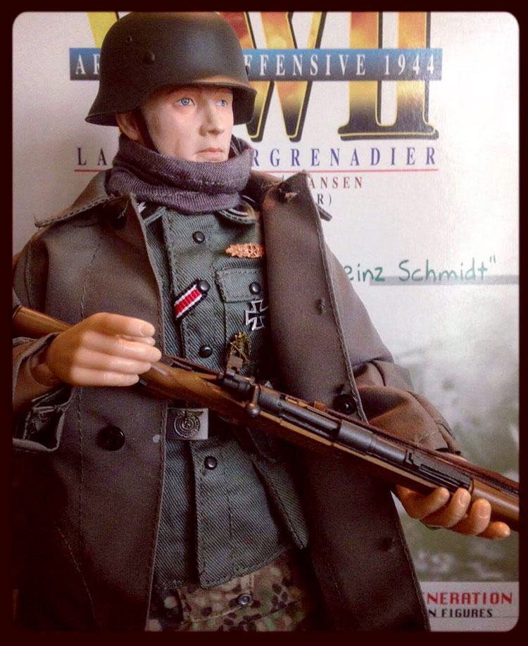 heinz schmidt with rifle