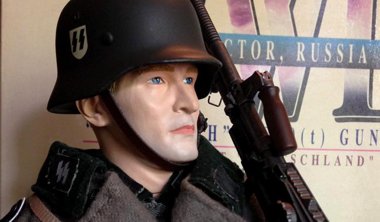 """Dragon """"Ludwig Mandel"""" – WW2 """"Das Reich"""" MG30(t) Gunner [Review]"""