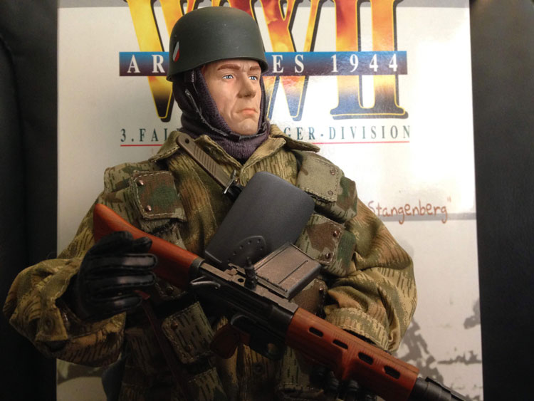 erwin stangenberg with fg42