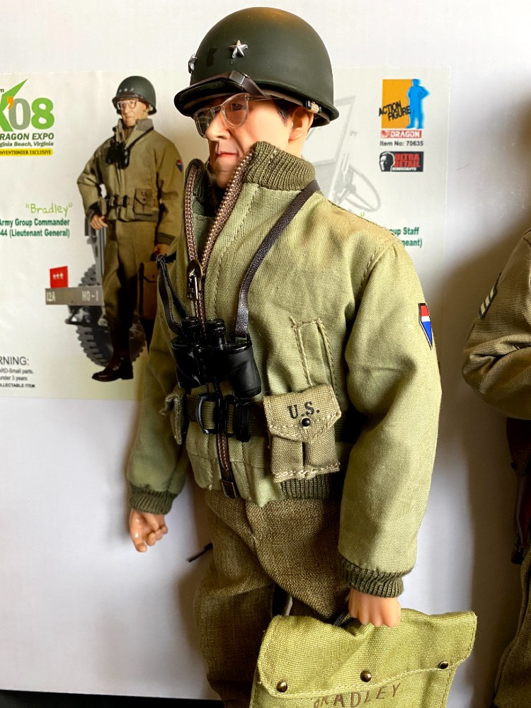 Omar Bradley posed